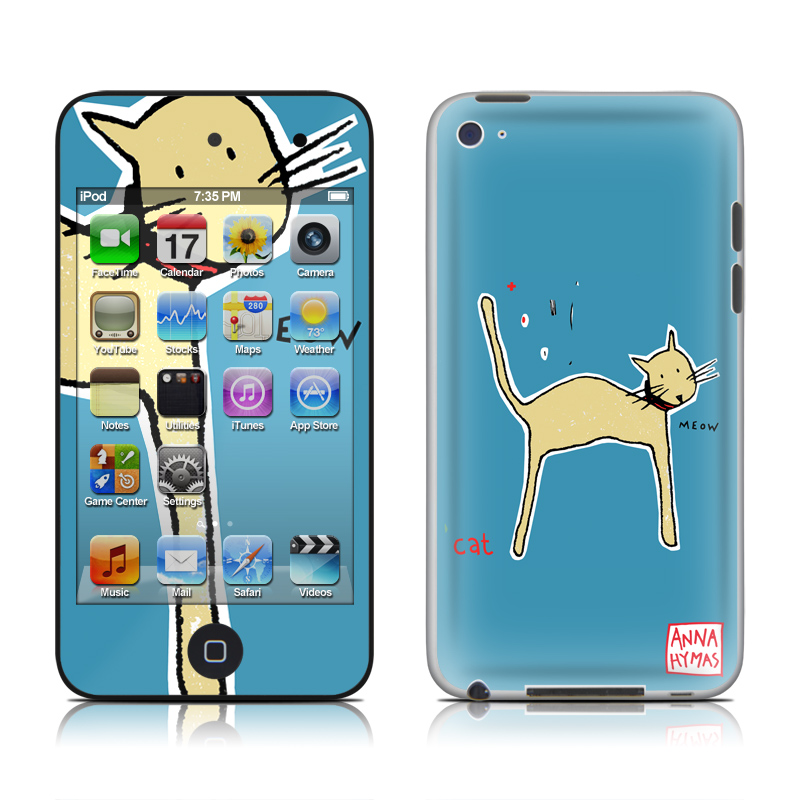 Cat iPod touch 4th Gen Skin
