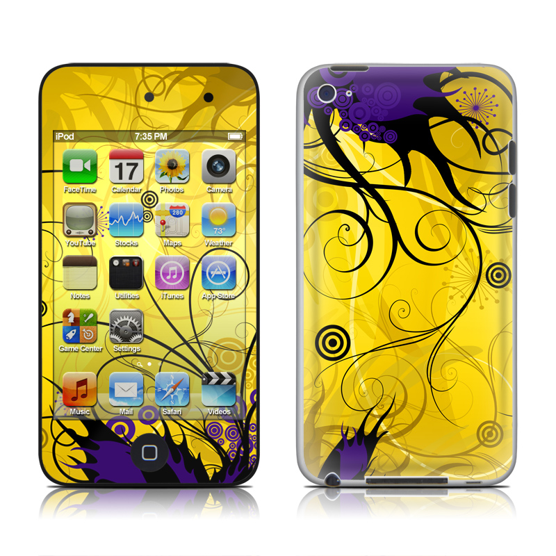 Chaotic Land iPod touch 4th Gen Skin