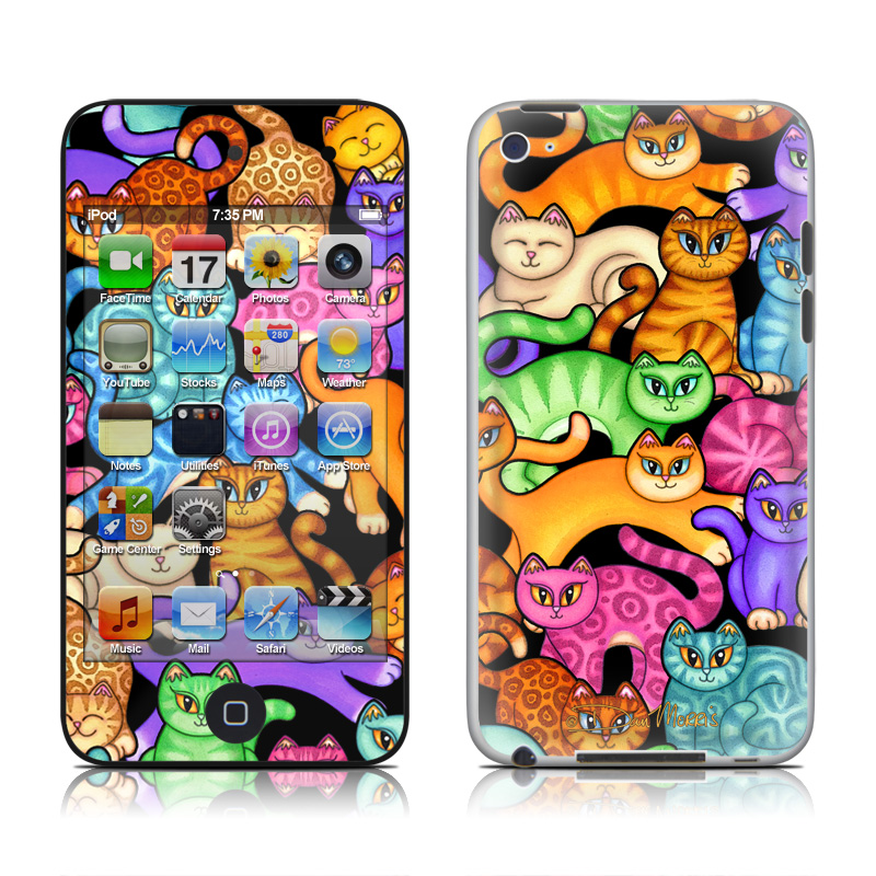 Colorful Kittens iPod touch 4th Gen Skin