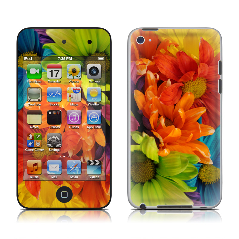 Colours iPod touch 4th Gen Skin