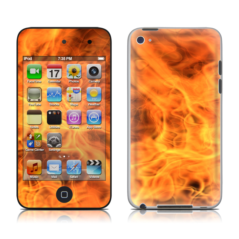 Combustion iPod touch 4th Gen Skin