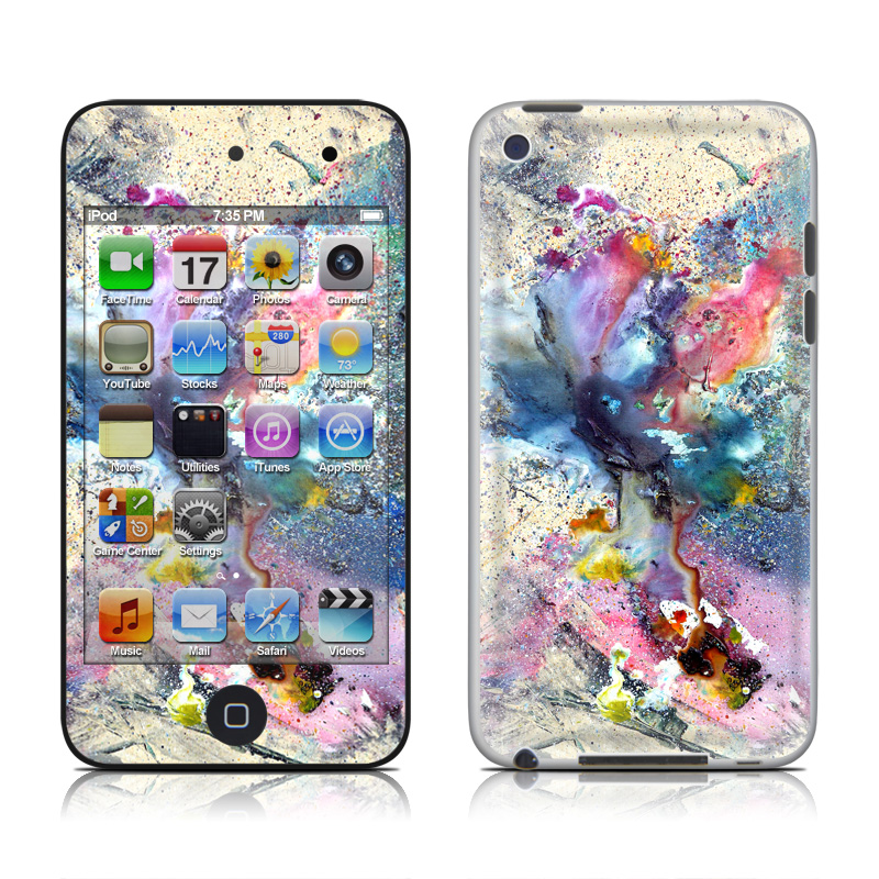 Cosmic Flower iPod touch 4th Gen Skin