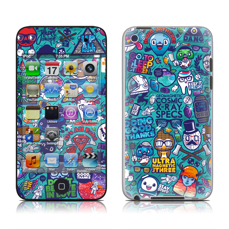 Cosmic Ray iPod touch 4th Gen Skin