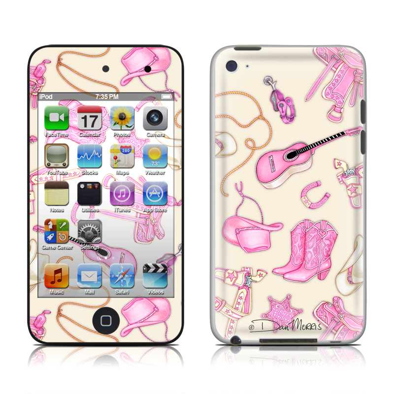 Cowgirl iPod touch 4th Gen Skin