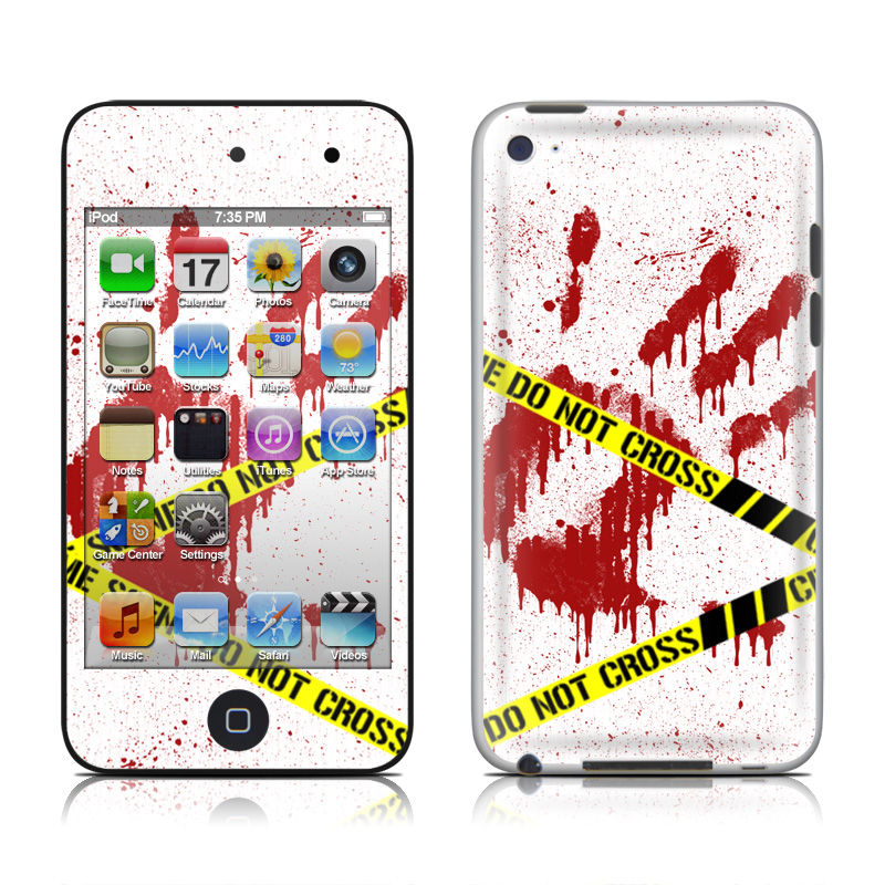Crime Scene Revisited iPod touch 4th Gen Skin