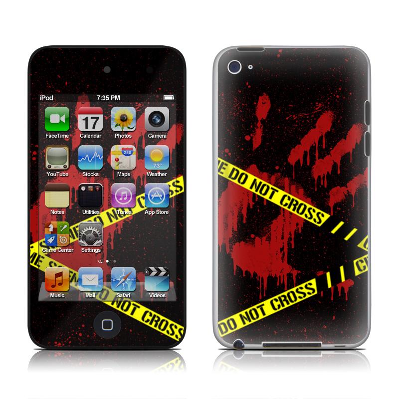 Crime Scene iPod touch 4th Gen Skin