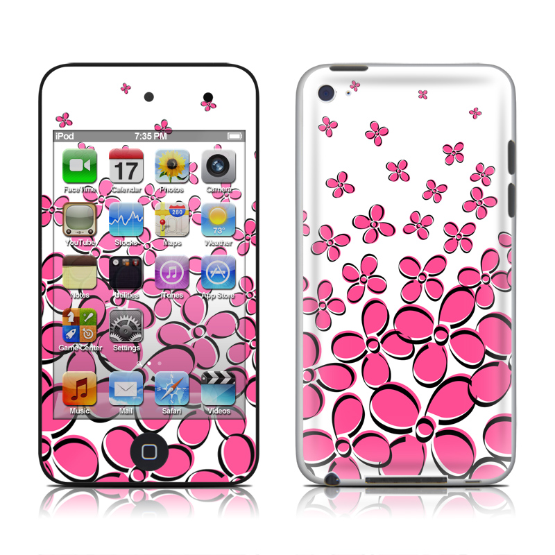 Pink iPod touch 4th Gen Skin