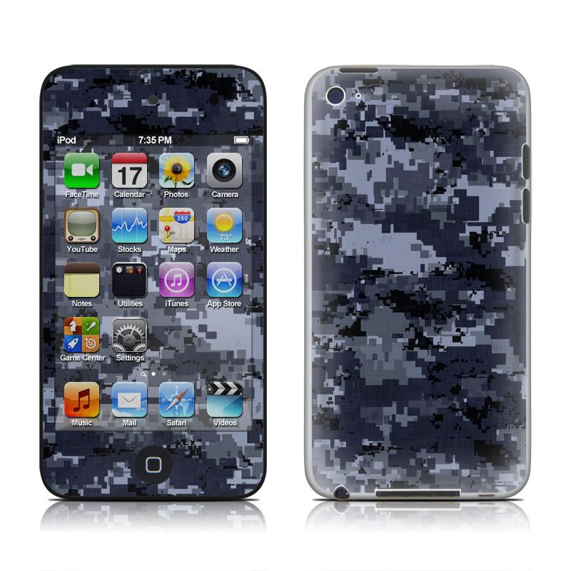 Digital Navy Camo iPod touch 4th Gen Skin