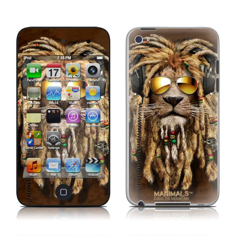 DJ Jahman iPod touch 4th Gen Skin