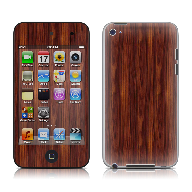 Dark Rosewood iPod touch 4th Gen Skin