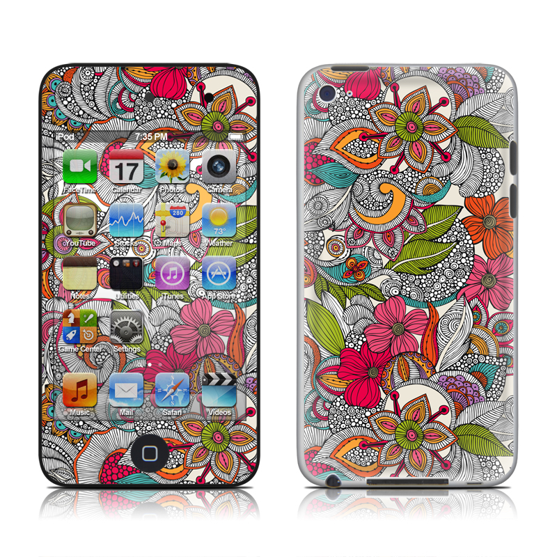 Doodles Color iPod touch 4th Gen Skin