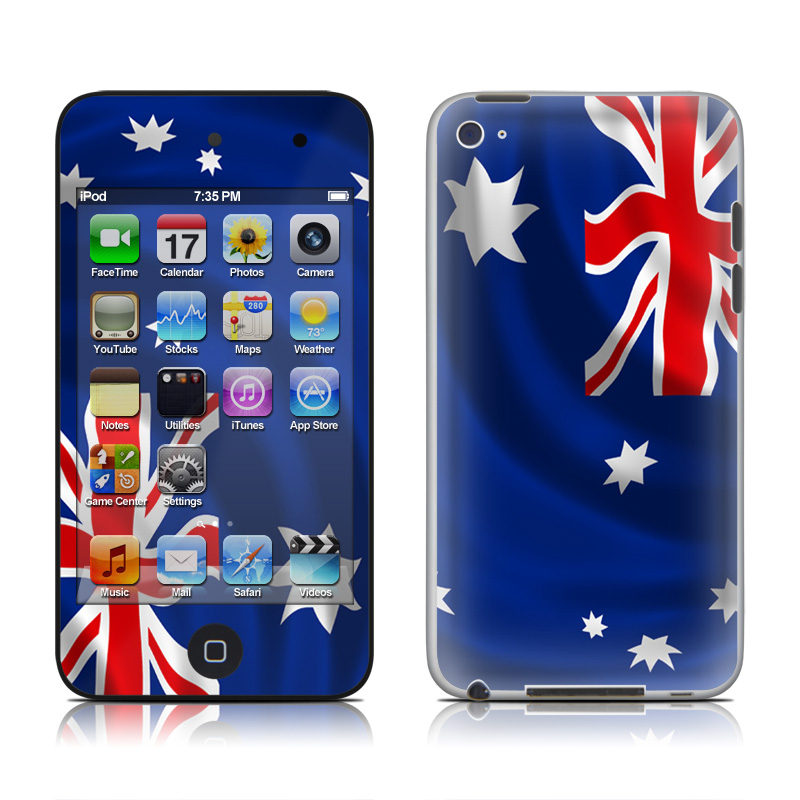 Down Under iPod touch 4th Gen Skin