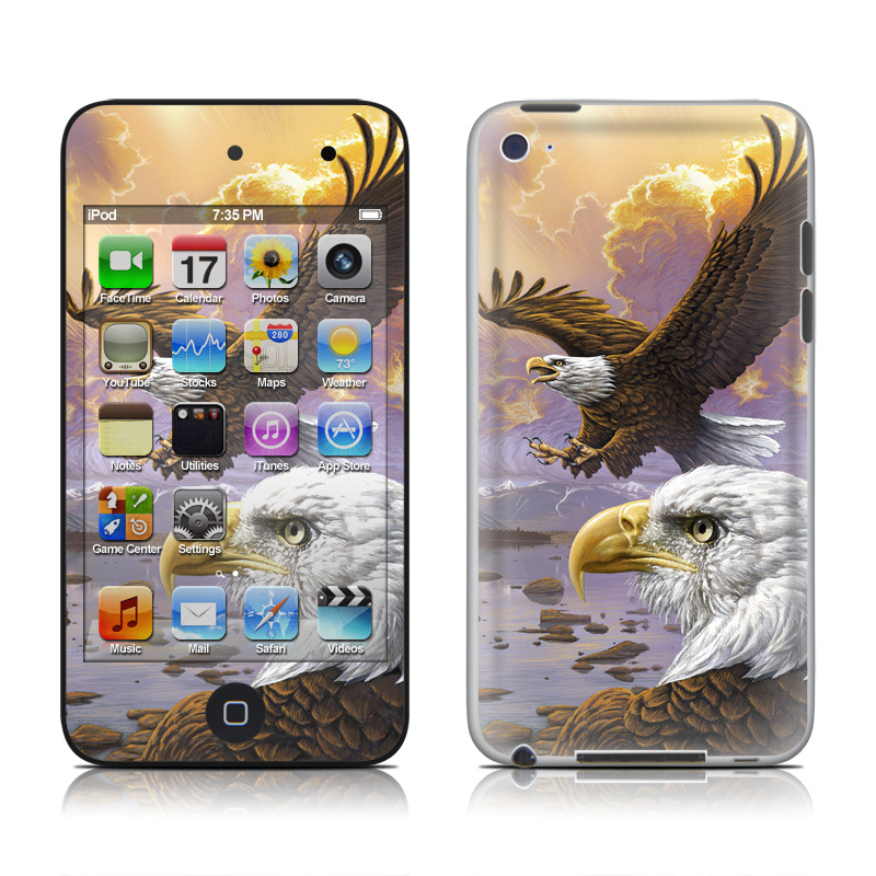 Eagle iPod touch 4th Gen Skin