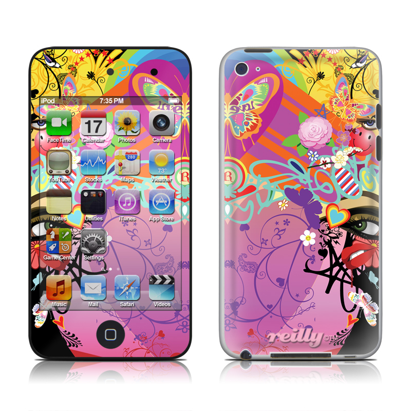 Ecstacy iPod touch 4th Gen Skin