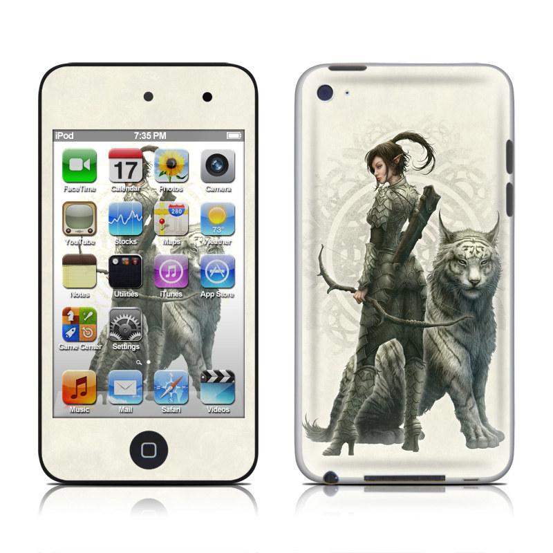 Half Elf Girl iPod touch 4th Gen Skin