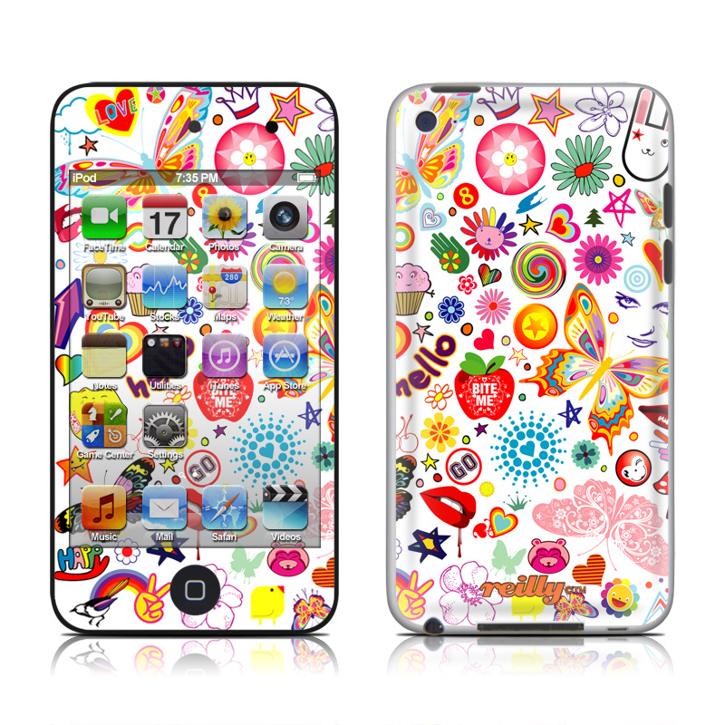 Eye Candy iPod touch 4th Gen Skin