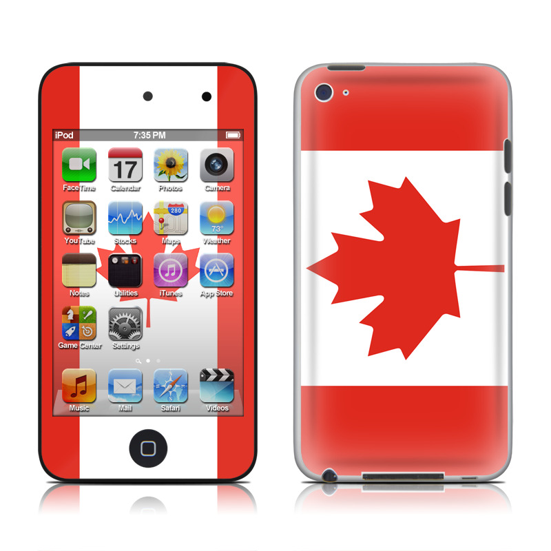 Canadian Flag iPod touch 4th Gen Skin