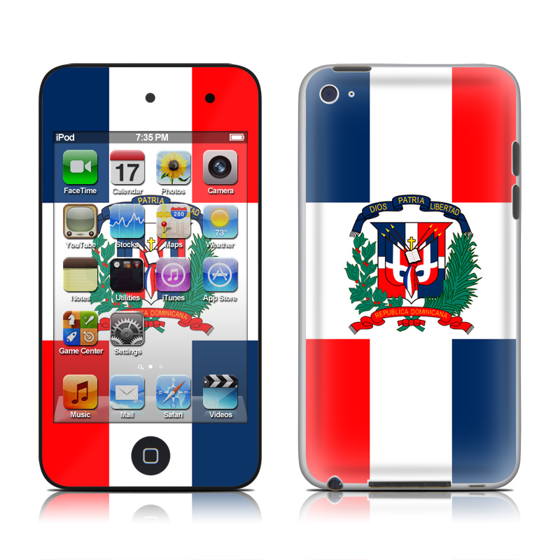 Dominican Republic Flag iPod touch 4th Gen Skin