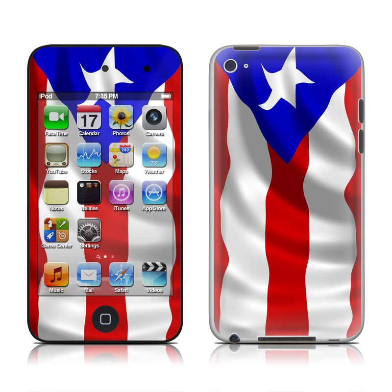 Puerto Rican Flag iPod touch 4th Gen Skin