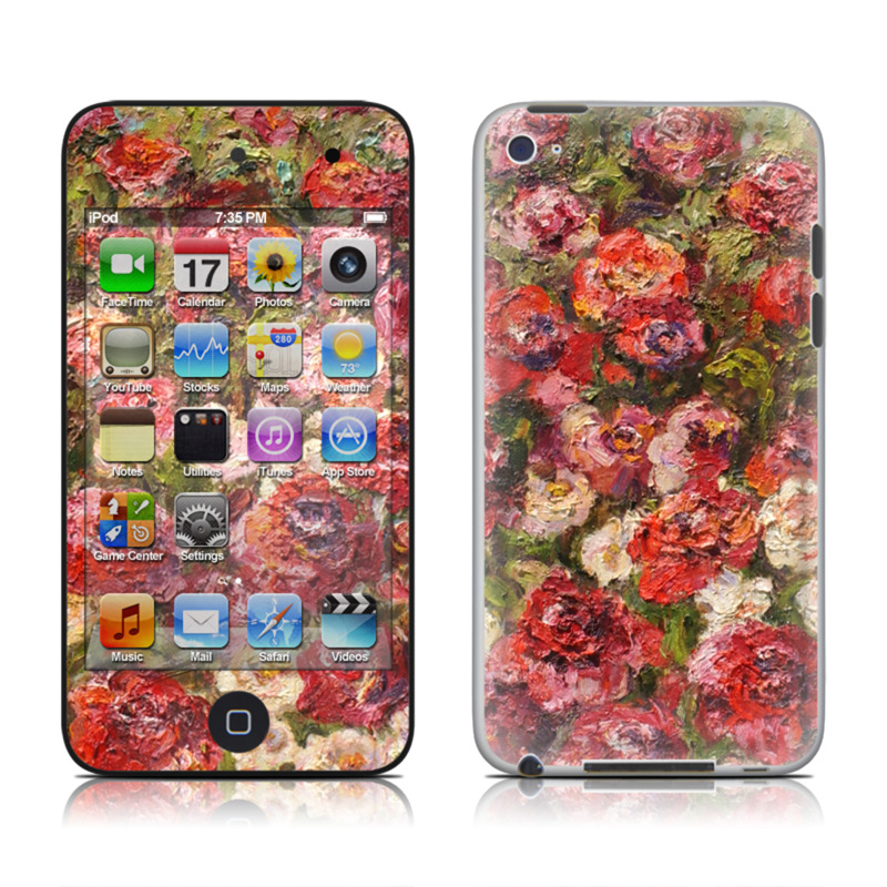 Fleurs Sauvages iPod touch 4th Gen Skin