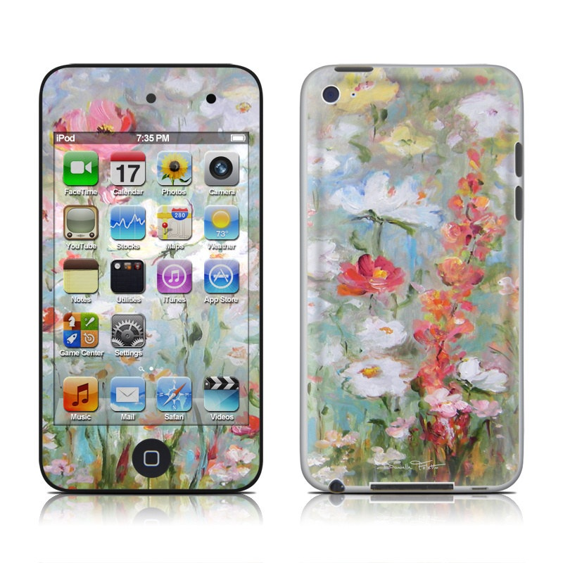 Flower Blooms iPod touch 4th Gen Skin