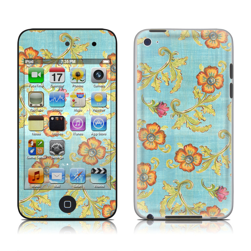Garden Jewel iPod touch 4th Gen Skin