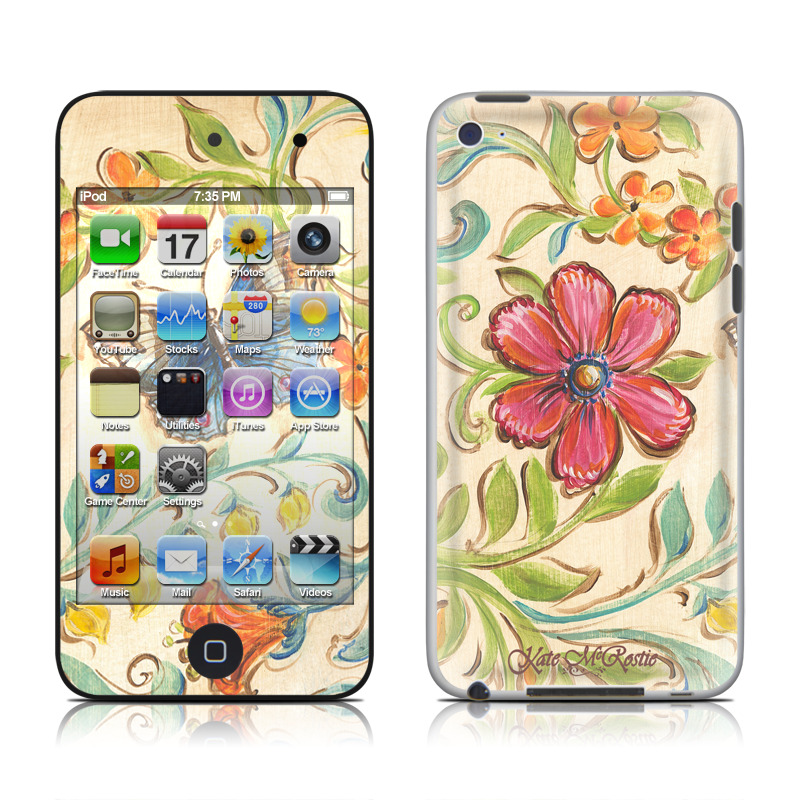 Garden Scroll iPod touch 4th Gen Skin