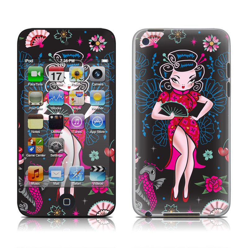 Geisha Gal iPod touch 4th Gen Skin