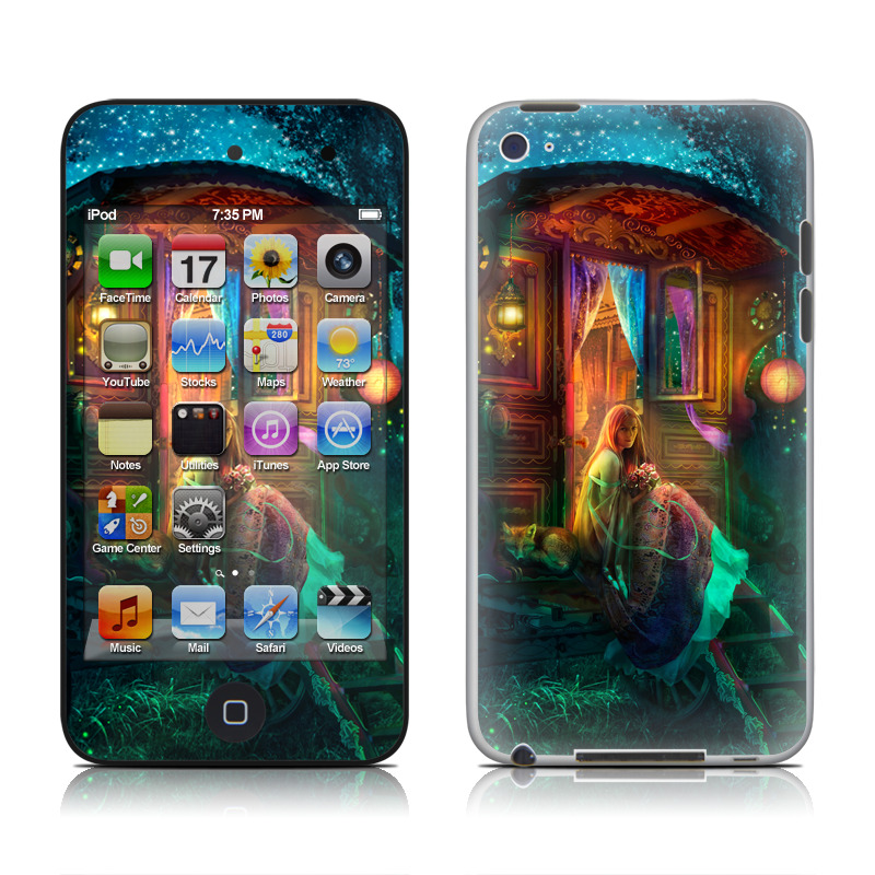 Gypsy Firefly iPod touch 4th Gen Skin