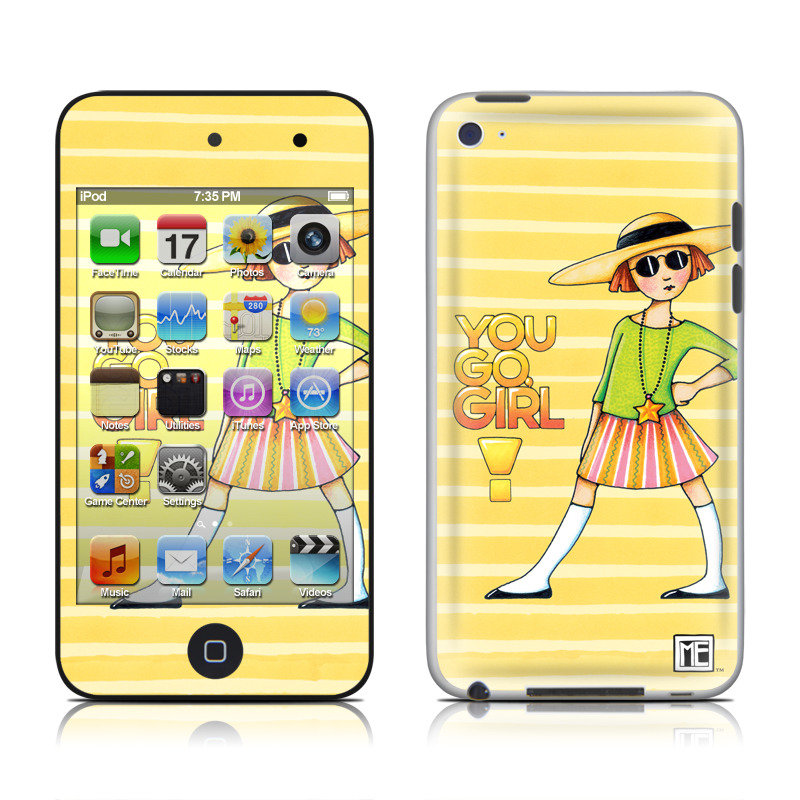 You Go Girl iPod touch 4th Gen Skin