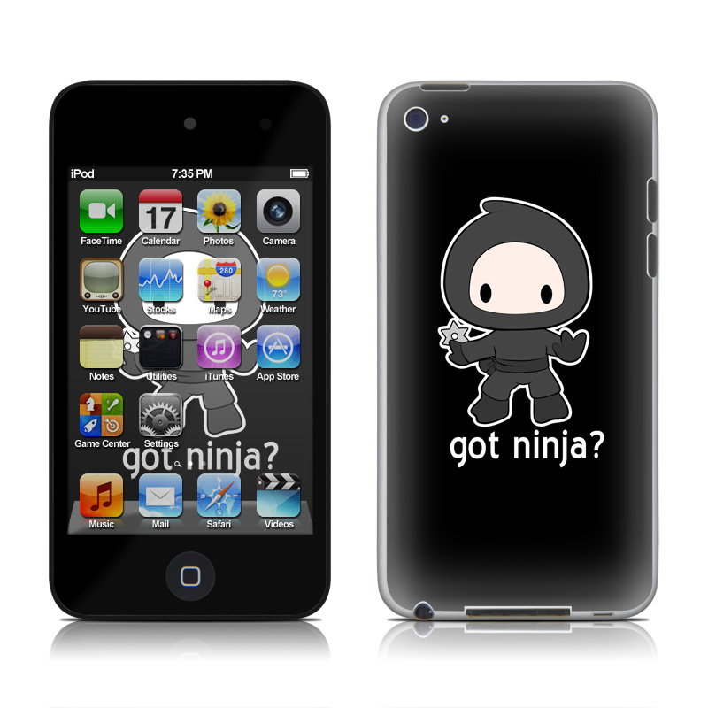 Got Ninja iPod touch 4th Gen Skin