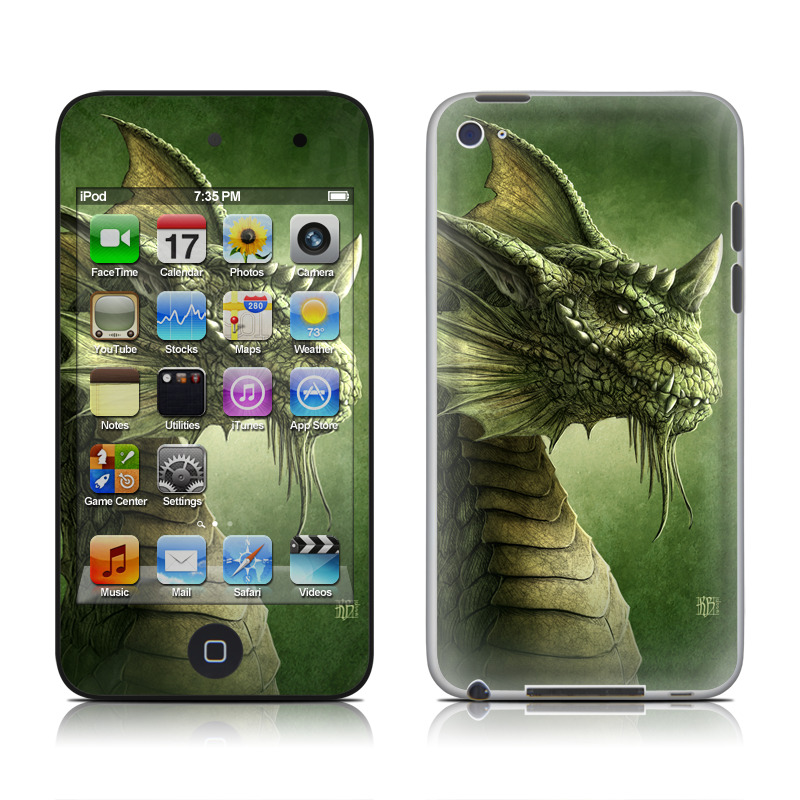 Green Dragon iPod touch 4th Gen Skin