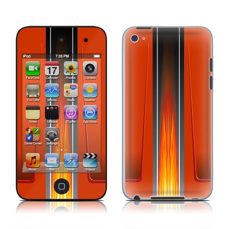Hot Rod iPod touch 4th Gen Skin
