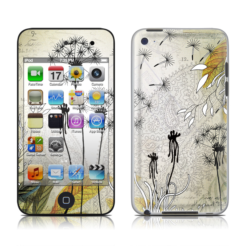 Little Dandelion iPod touch 4th Gen Skin