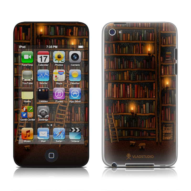 Library iPod touch 4th Gen Skin