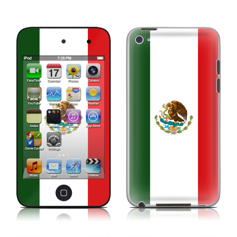 Mexican Flag iPod touch 4th Gen Skin