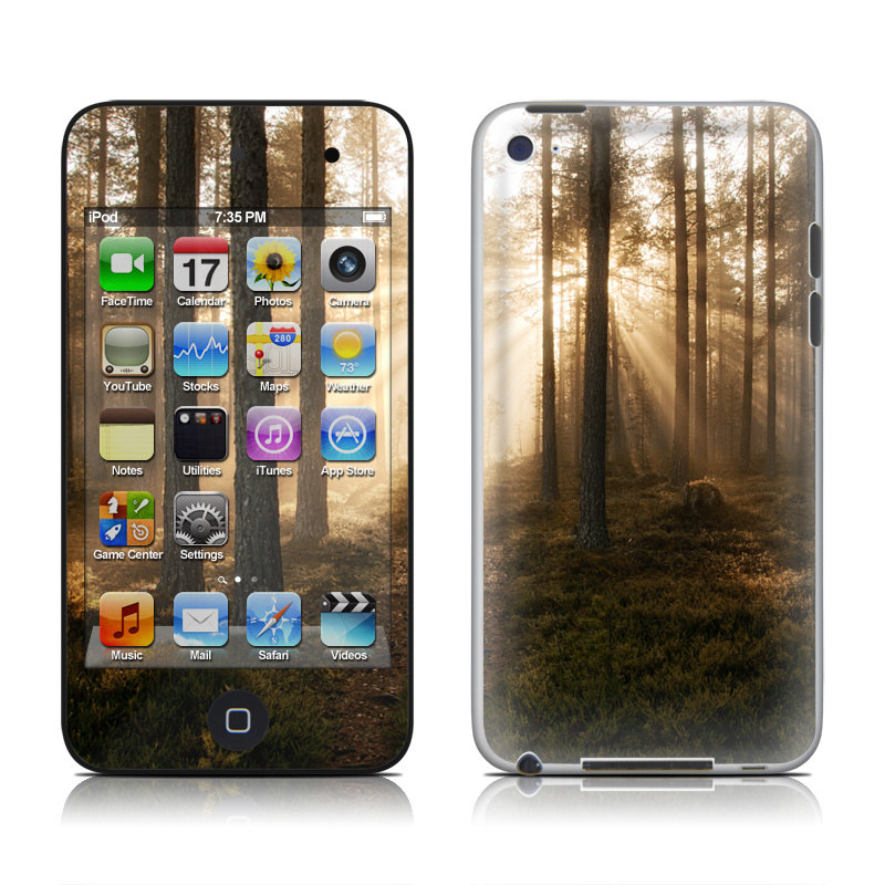 Misty Trail iPod touch 4th Gen Skin
