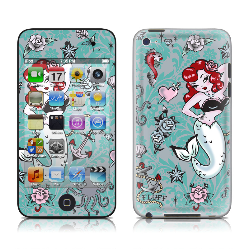 Molly Mermaid iPod touch 4th Gen Skin