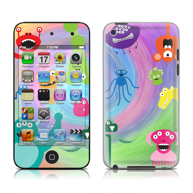 Monster Party iPod touch 4th Gen Skin