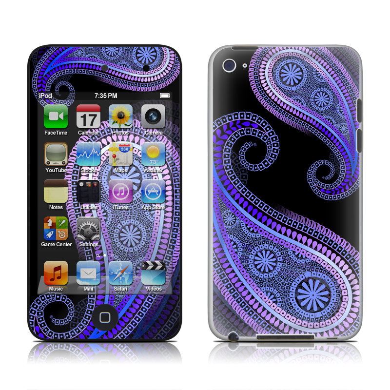 Morado iPod touch 4th Gen Skin
