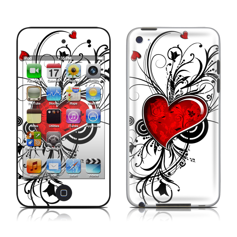 My Heart iPod touch 4th Gen Skin