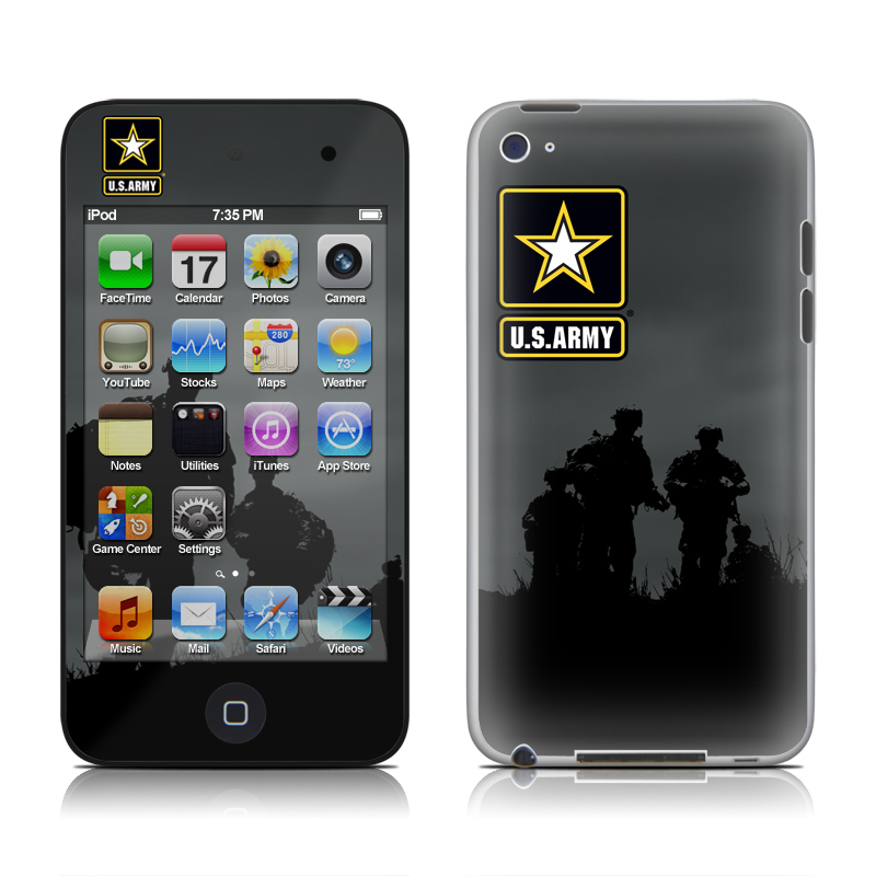 Night Action iPod touch 4th Gen Skin