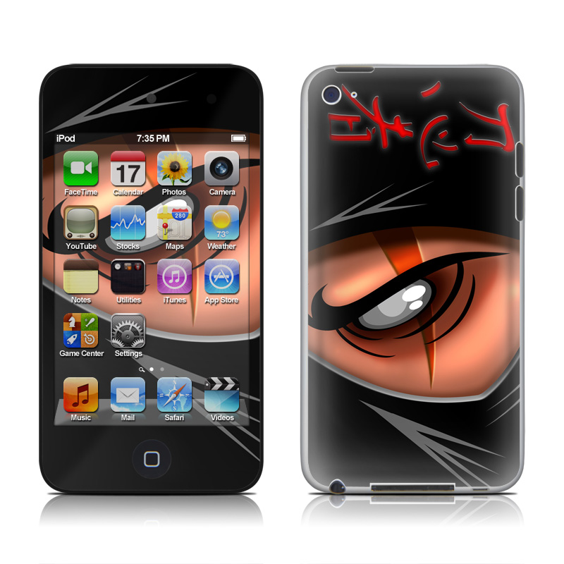 Ninja iPod touch 4th Gen Skin