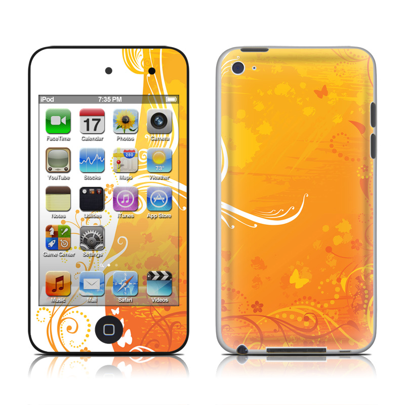 Orange Crush iPod touch 4th Gen Skin