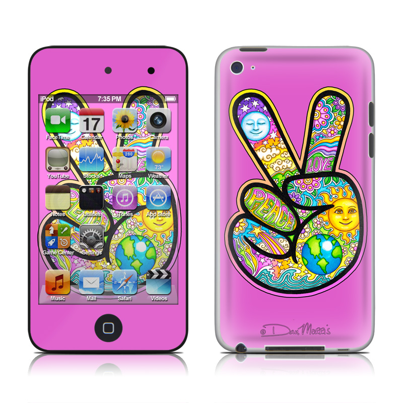 Peace Hand iPod touch 4th Gen Skin