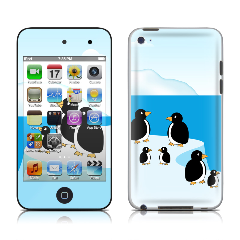 Penguins iPod touch 4th Gen Skin