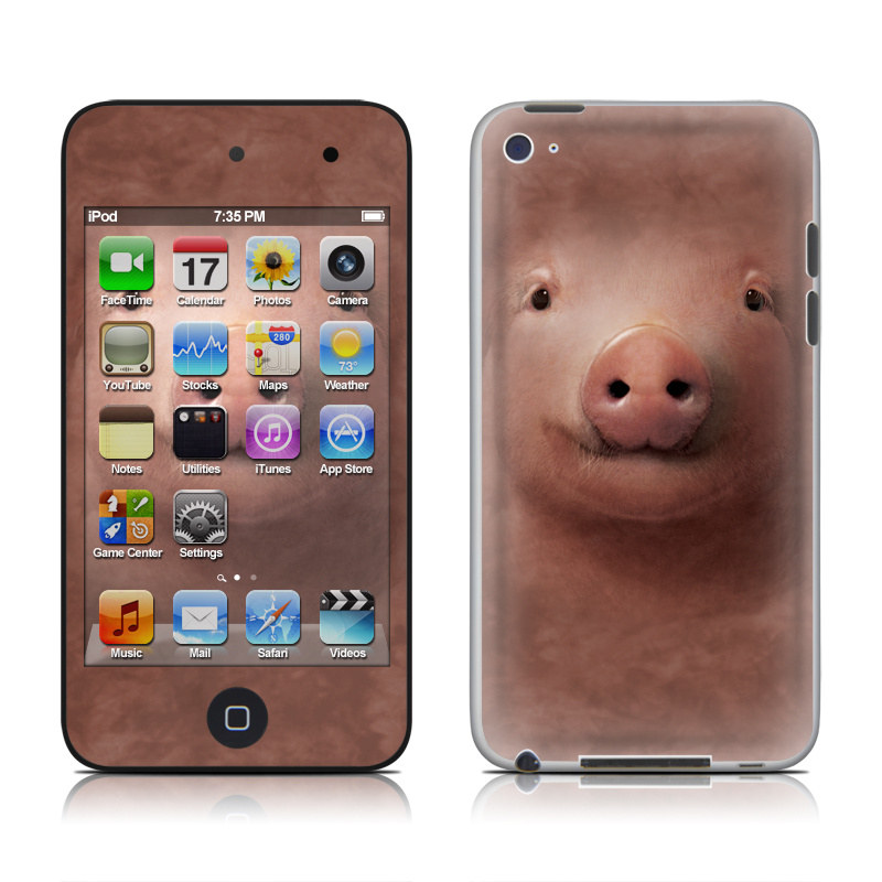 Pig iPod touch 4th Gen Skin
