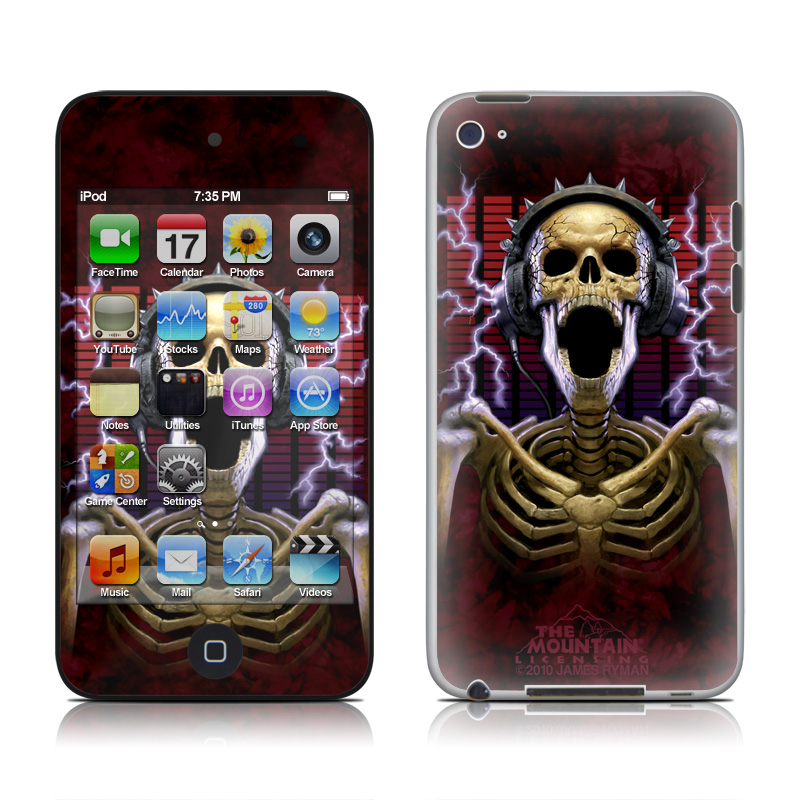 Play Loud iPod touch 4th Gen Skin