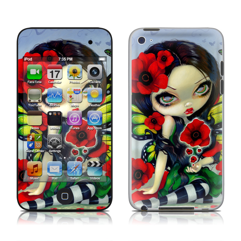 Poppy Magic iPod touch 4th Gen Skin