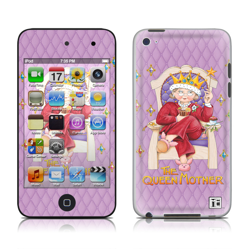 Queen Mother iPod touch 4th Gen Skin